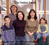 The Dunton Family - 2001