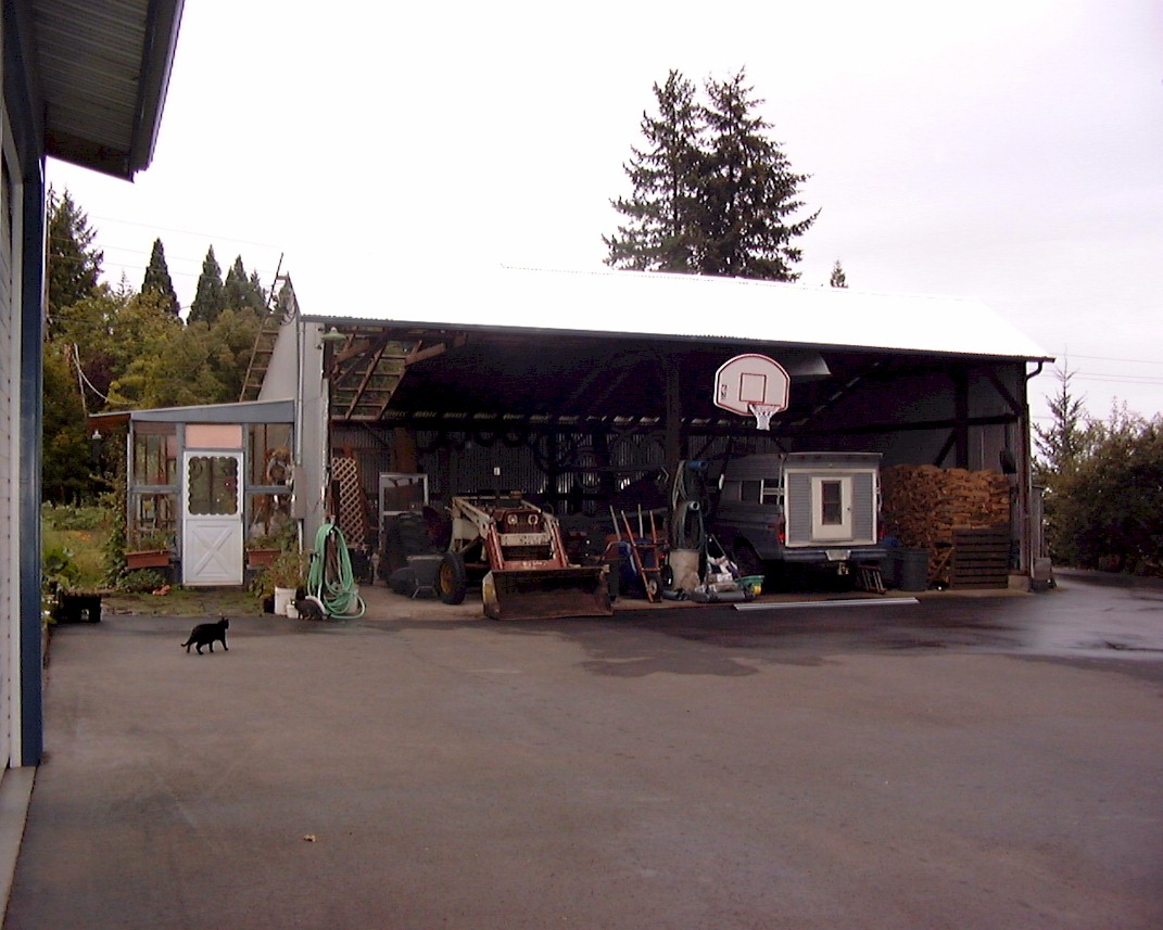 Outbuilding repair and maintenance projects 2004 for Equipment shed